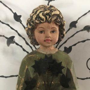 Vintage Wooden Angel